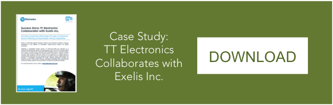 TT Electronics-IMS Collaborates with Exelis Inc.